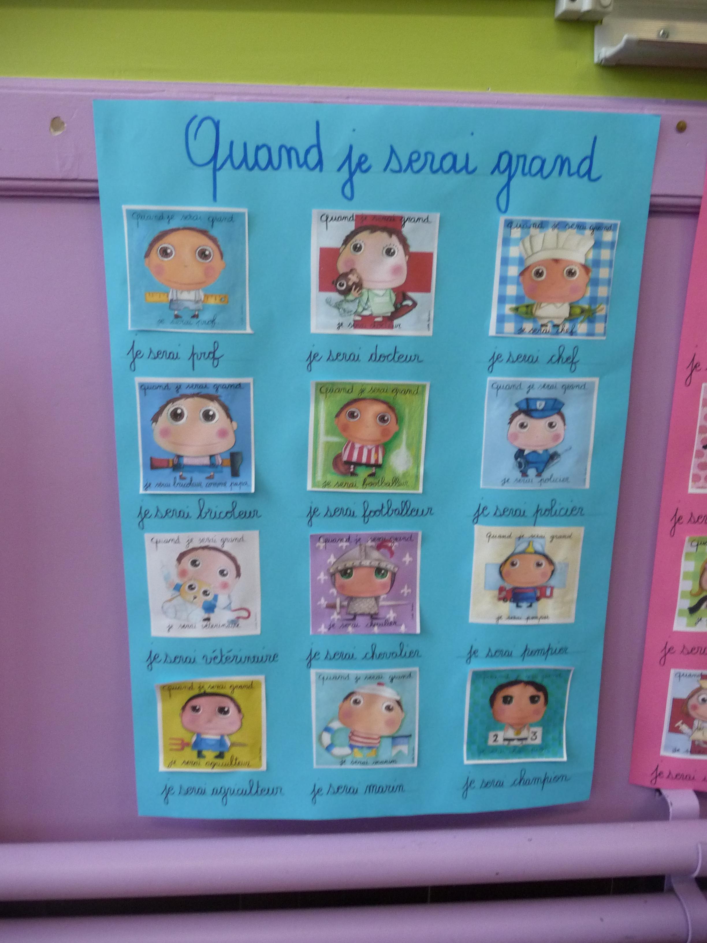 Ecole Primaire De Maretz Blog Archive Quand Je Serai